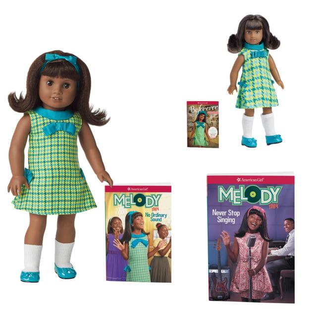 /_/_/_/_/_/_NEW IN BOX AMERICAN GIRL DOLL MELODY ELLISON W// BOOK!!!