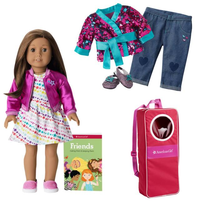 American Girl Sparkle Gem Earring Set for Dolls NEW!