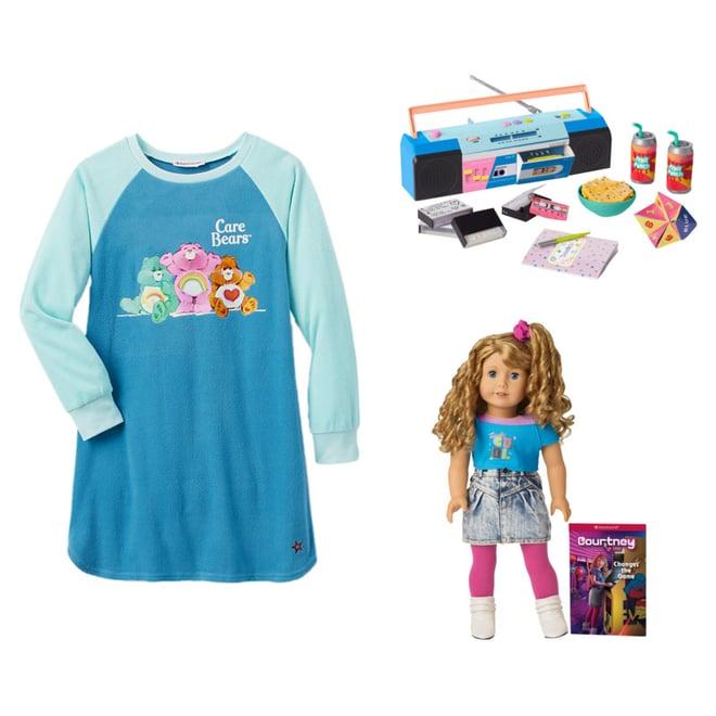 American Girl Courtney Moore Care Bear Sleeping Bag Set Care Bear SAME DAY SHIP