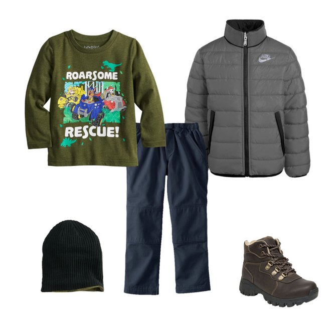 Jumping Beans Toddler Boys 2T-5T Blaze to The Rescue Graphic Tee